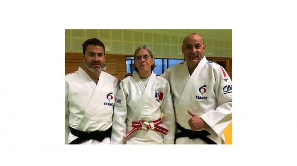 Judo Kata Sportif - L'équipe de France en stage au CREPS de Reims.