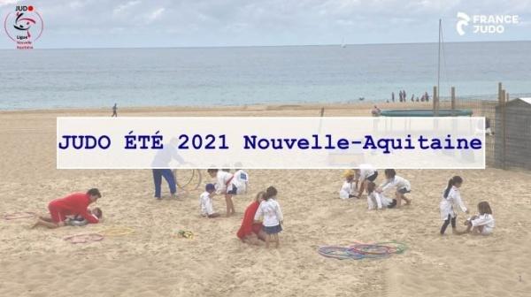 ACTIONS JUDO ÉTÉ NOUVELLE AQUITAINE 2021